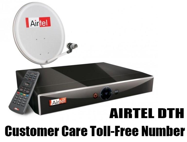 Airtel Digital TV Customer Care Toll-Free Helpline Number