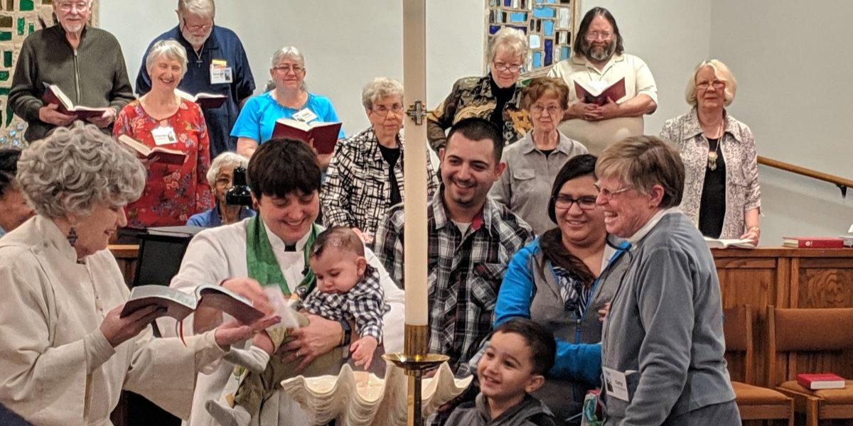 Celebrating a baptism
