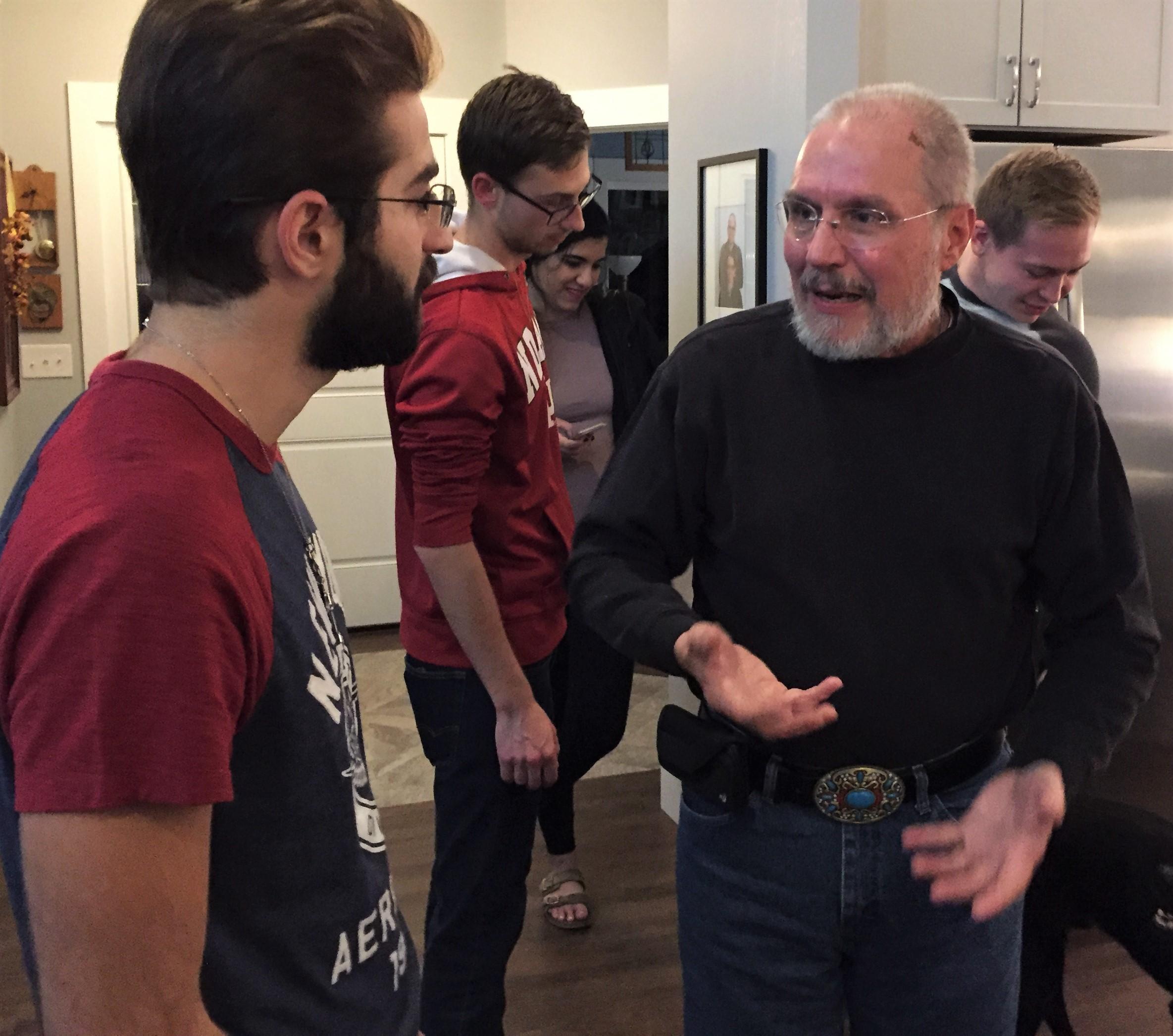 Howard talks theology