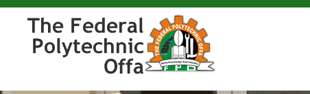 Federal Poly Offa HND Admission List