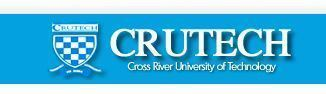 Image result for CRUTECH Part-Time Admission 2017/2018 Announced
