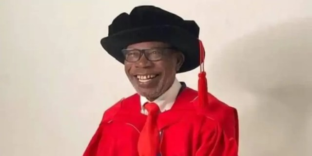 Man Causes Stir Online as He Bags PhD at 75 after Getting His 1st Degree when he Was 64