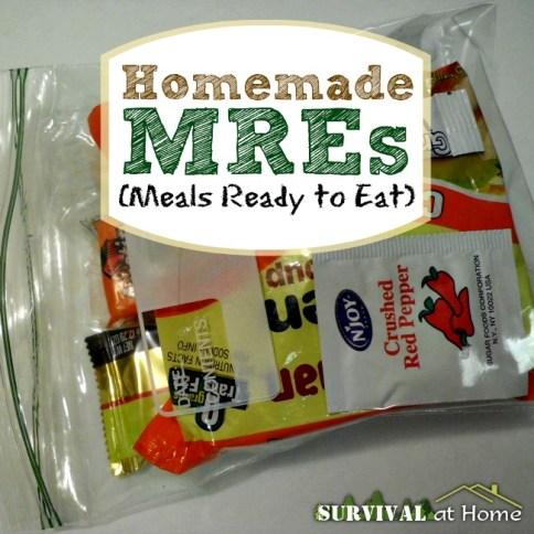 Homemade MREs