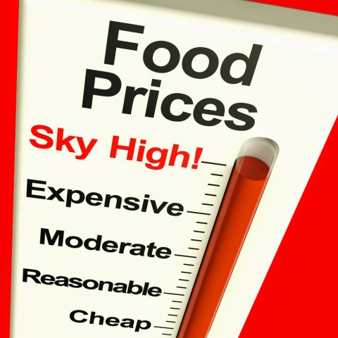Food prices continue to skyrocket