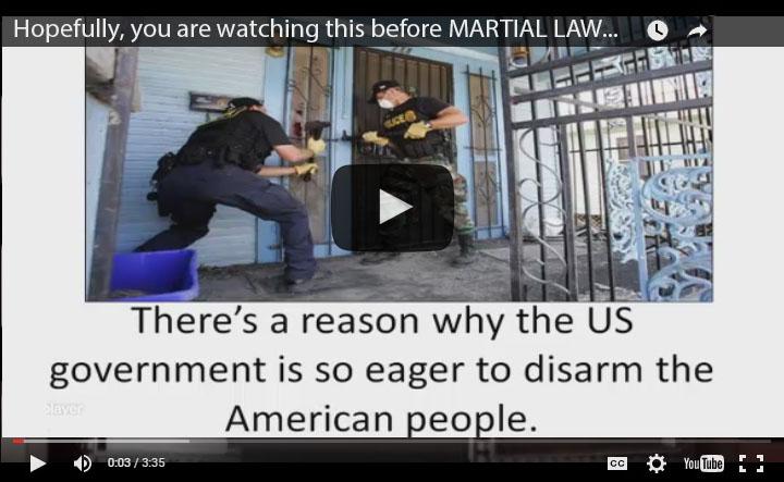 Facing Martial Law