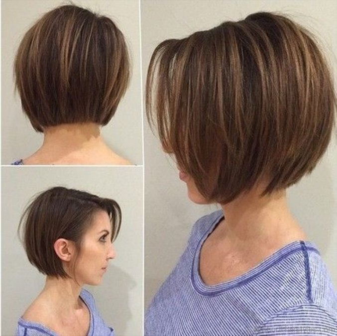 Image Result For Back Of Layered Bob Hairstyles