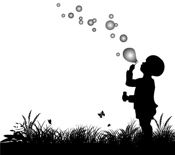 Blowing bubbles milestone