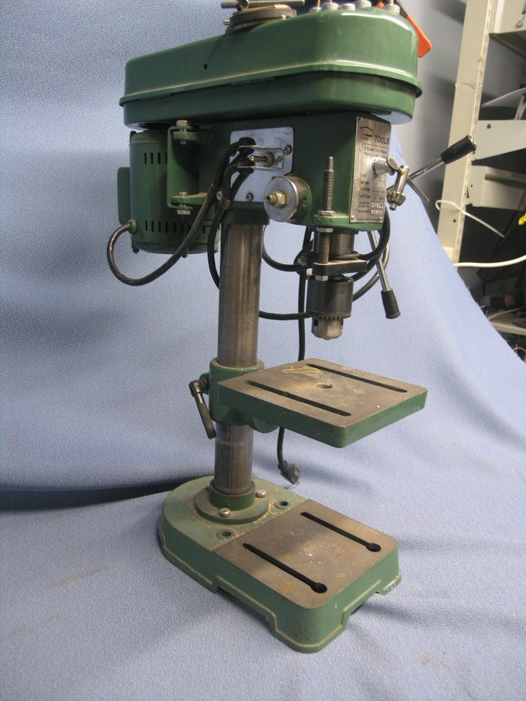 5 Speed Drill Press 1201 House Of Tools 1 2 Quot Bench Hd