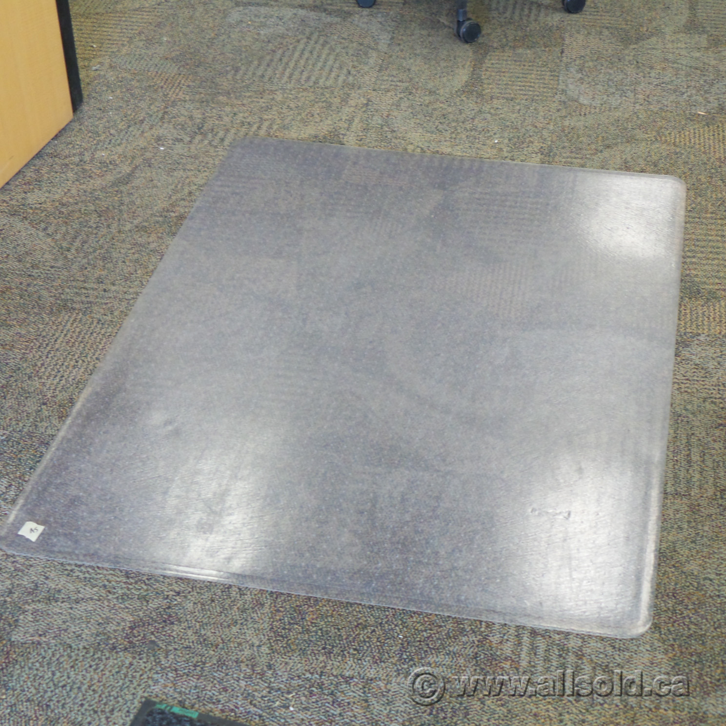 45 X 60 Rectangular Plastic Chair Mat For Carpet