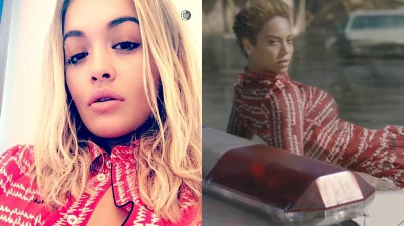 Rita Ora denies