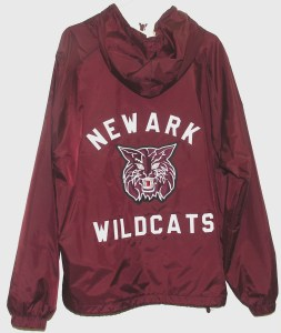 All-Star Embroidery Newark Windbreaker Jacket Back