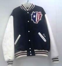 All-Star Embroidery Zanesville Varsity Jacket Front