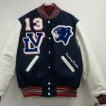 Licking Valley Girl Varsity Jacket Front