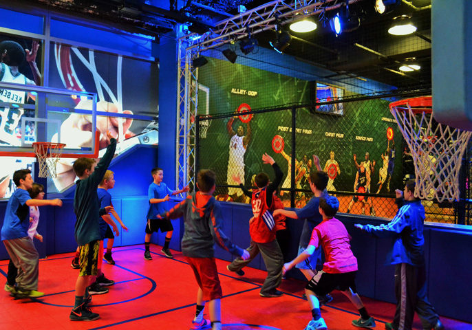 Sports Birthday Party All Star Party World Indoor Party Place