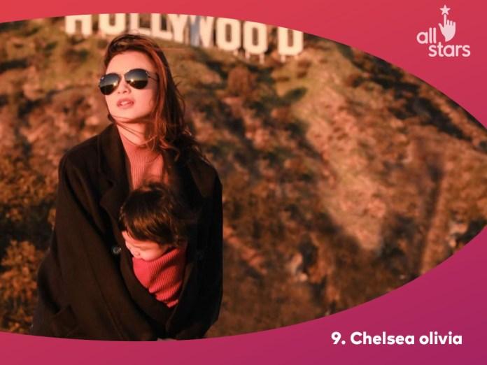 chelsea olivia merupakan top 10 artis dengan followers terbanyak
