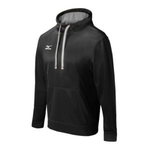 Mizuno Compression Stretch Hoodie - Black