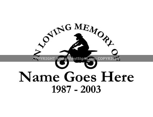 Small Window Memory Decals