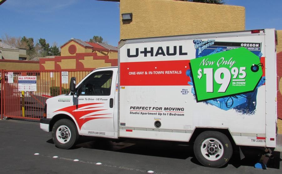 U Haul Truck Rentals Allstoragevegas