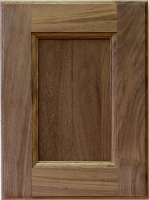 Russell Walnut Kitchen Cabinet Door By Allstyle