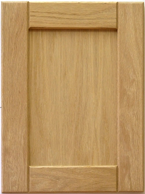 Adam Wood Shaker Kitchen Cabinet Door With V Groove Rails