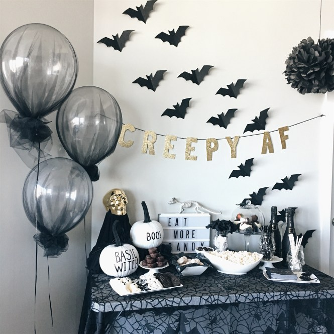 Easy Diy Halloween Party Decor All Style Life