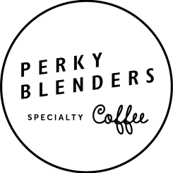 Image result for perky blenders coffee logo