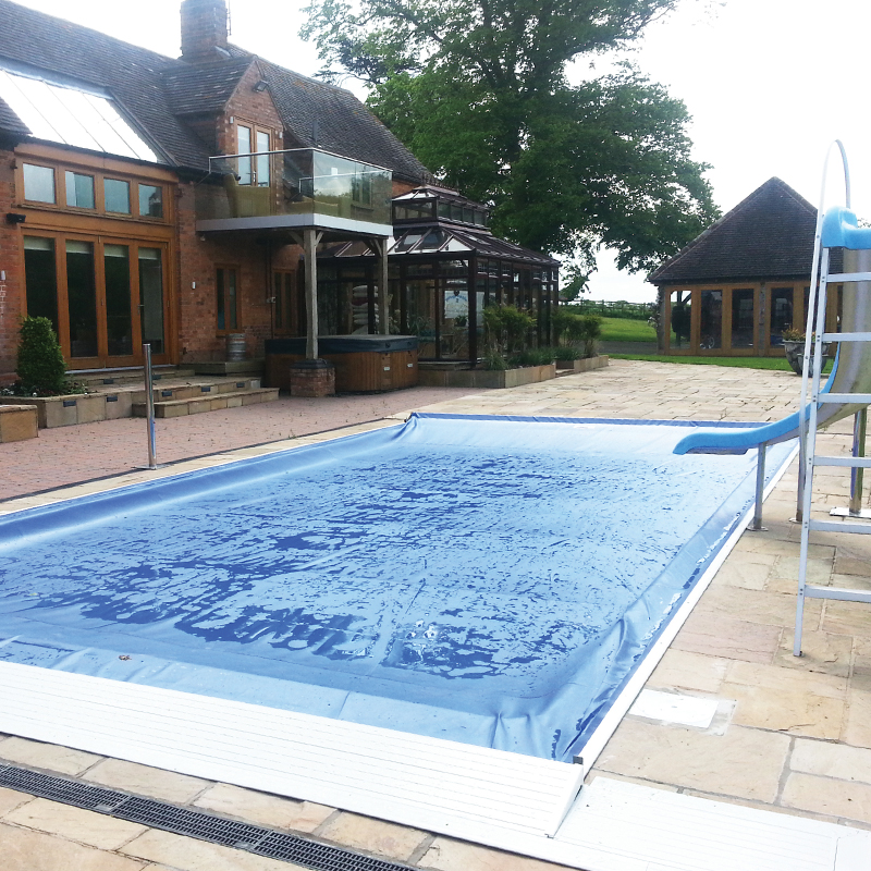 Coverstar Automatic Safety Pool Cover Complete With