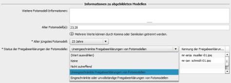 MR/PR-Zuordnung nach dem PLUS-Standard mit Adobe Photoshop