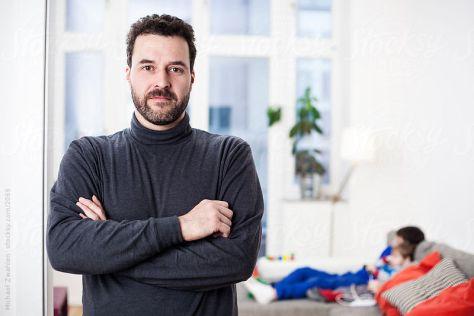 Michael Zwahlen - Selbstportrait zum Verkauf über Stocksy