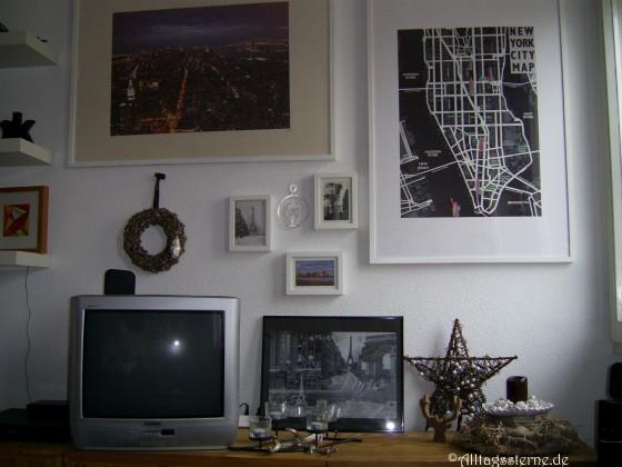 alte Bilder - neue Wand