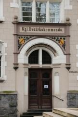 Nebeneingang des Rathauses