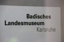 Karlsruhe-Badisches Landesmuseum-Museumsbande-Eingang
