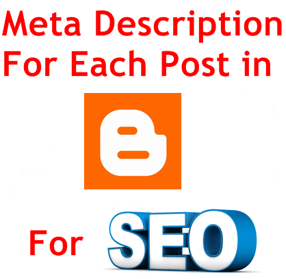 How to Add Meta Description In Blogger