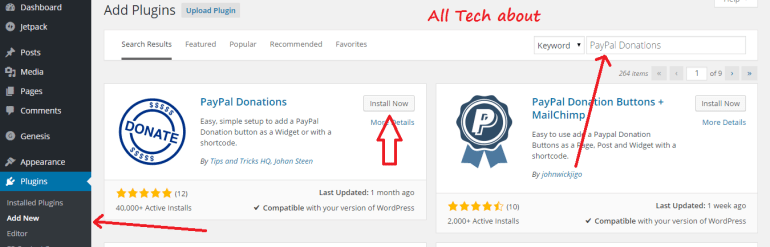 How to Add a PayPal Donate Button in Your WordPress Blog