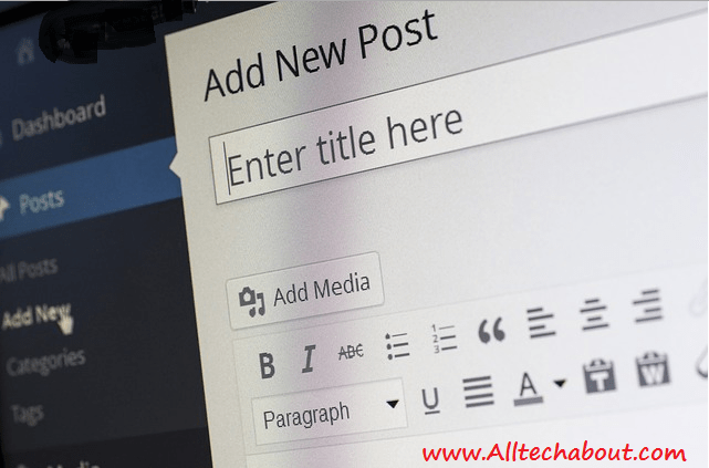 How to Write or Add a New Post in WordPress