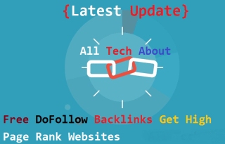 How To Get DoFollow Backlinks For Free From High Page Rank Websites