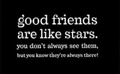teman baik seperti bintang whatsapp dp