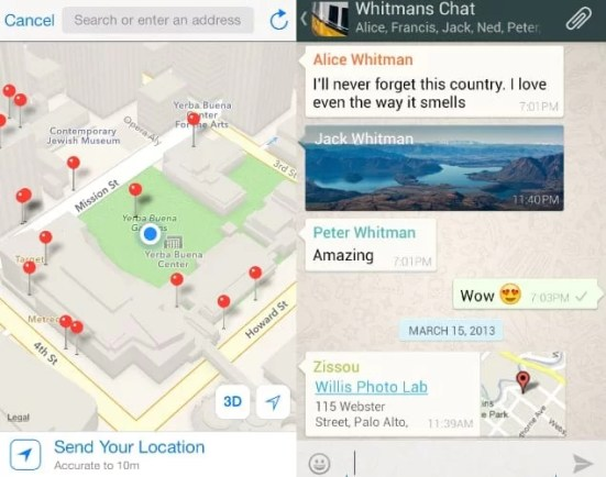 Send Fake Location in iPhone