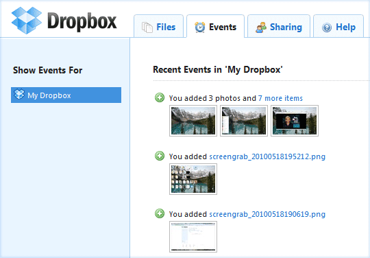 how to dropbox snagit