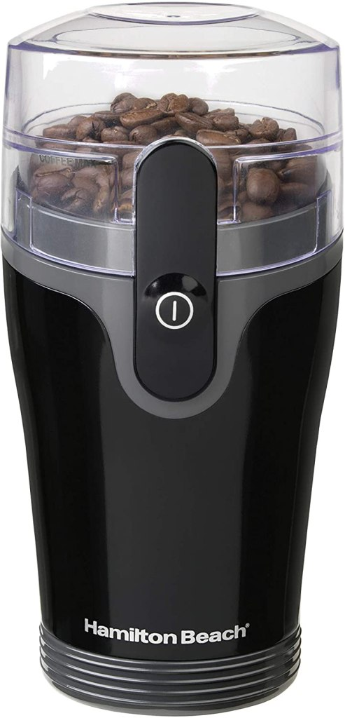 Hamilton beach portable electric coffee grinder