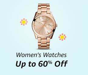 Amazon Great Indian Shopping Festival Offers on Watches