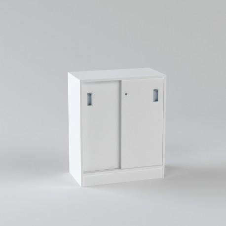 Allt För Kontor-skåp-med-skjutdorr-80x92cm-vit-vit (1)
