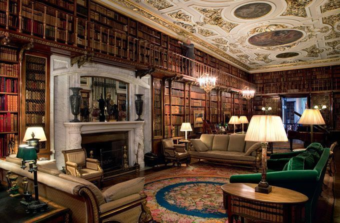 chatsworth-house-library