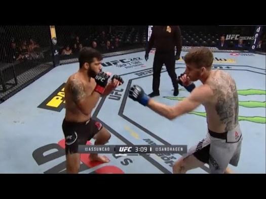 Cory Sandhagen vs Raphael Assuncao full fight video UFC 241