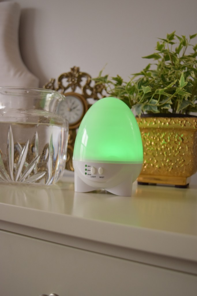 Aroma1-Aromatherapy-Diffuser-Green-Light