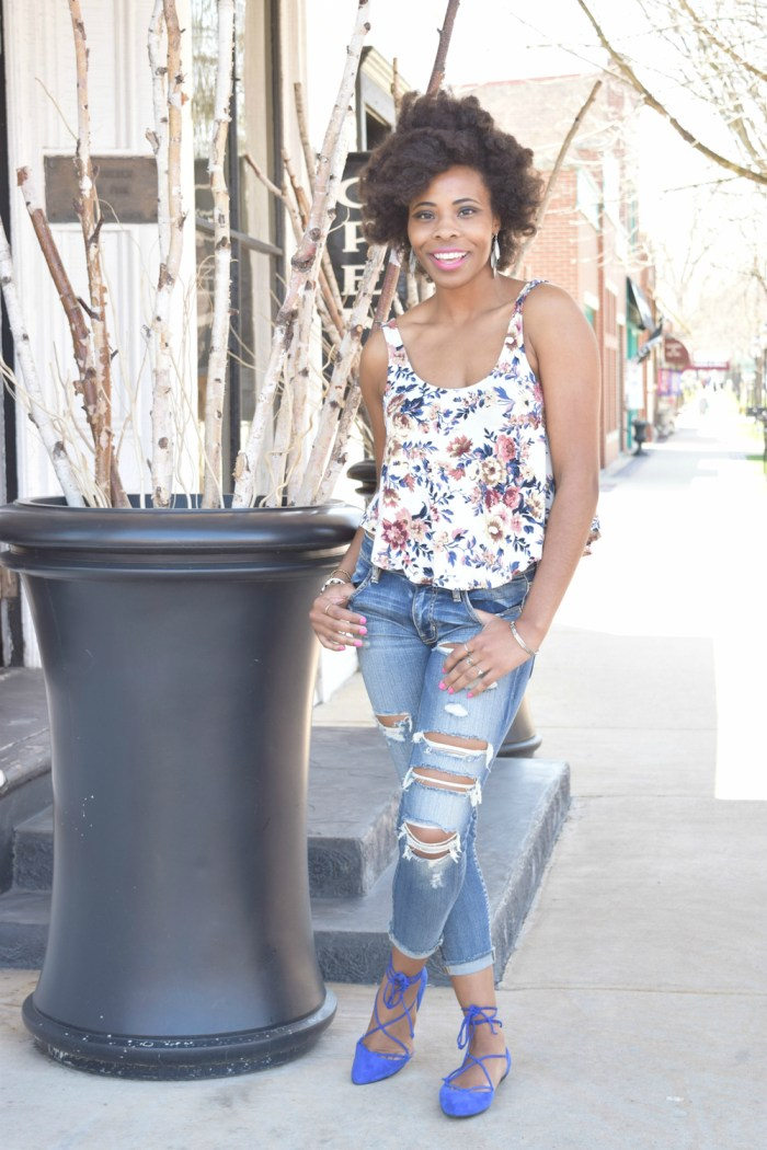 floral-swing-tank-ripped-cropped-denims