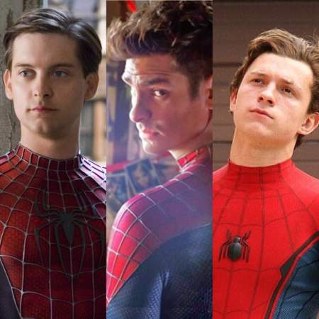 Image result for all 3 spiderman actors