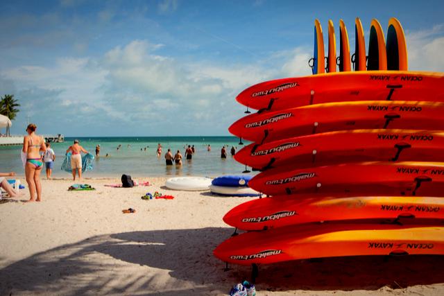 South Beach in Key West