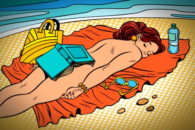 Sex at nude resort
