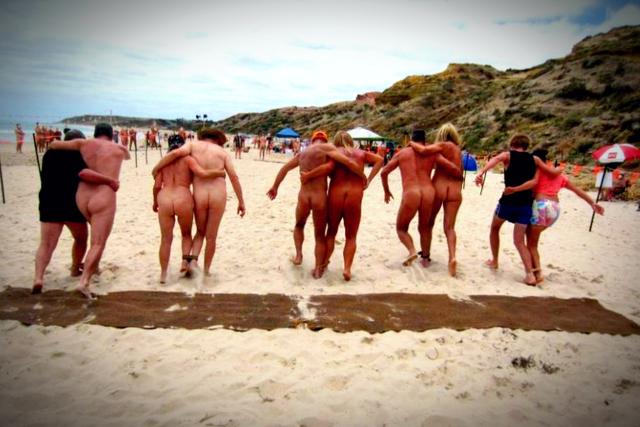 nudist fun and games